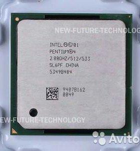 Процессор Intel pentium 4 сокет 478