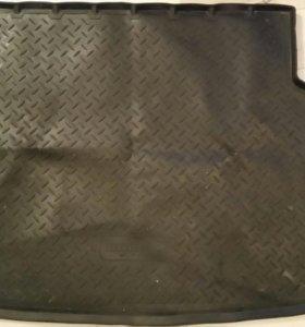 Ковер в багажник киа рио 3