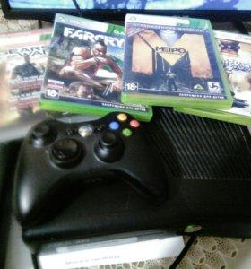 Xbox 360 slim 250 гигабайт