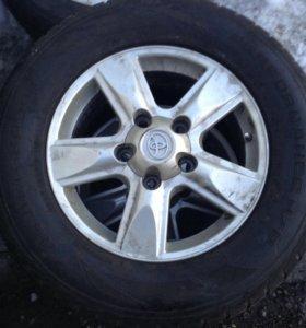 Комплект колёс Toyota Land Cruiser.285/60/r18