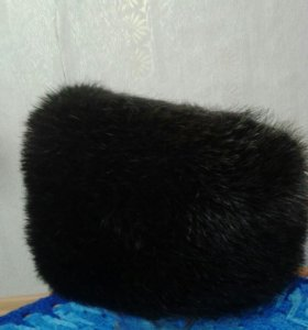 новая шапка, норка, размер 54-56