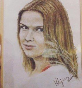 Портреты, натюрморты на заказ
