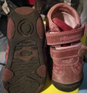 Ботинки на баечке, 24 размер.