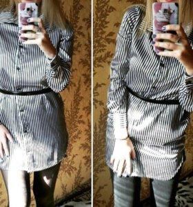 Туника-рубашка 42-44
