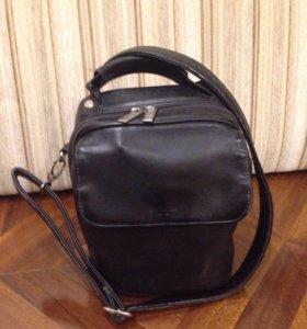 Кожаная сумка Dr Koffer