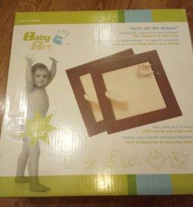 Рамка Baby Art для создания слепков ручек и ножек
