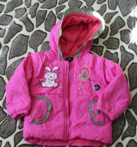 Демисезонная курточка 1-1,5 года