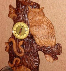 Панно часы