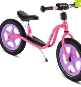 Puky LR 1L розовый с лиловыми