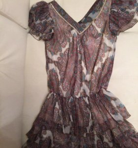 Туника короткое летнее платье
