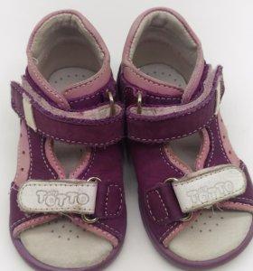 Обувь на лето  ТОТТО 19 размер
