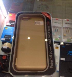Чехол-аккумулятор для iPhone 5/5S/SE