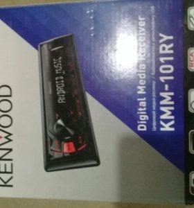 Автомагнитола Kenwood KMM-101RY, новая, в коробке