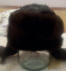 Шапка ушанка мужская(кролик),союзмехпром,новая.