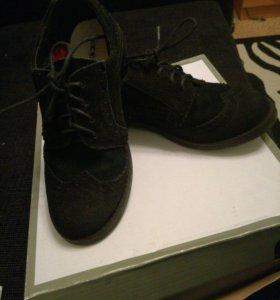 Ботинки(замша)