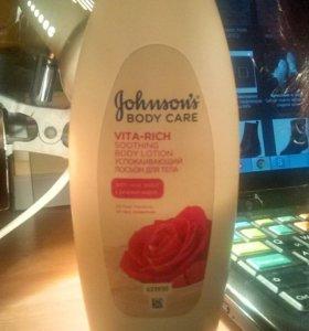 Успокаивающий лосьон для тела Johnson's