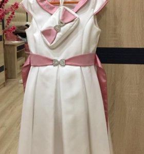 Платье размер 134 см