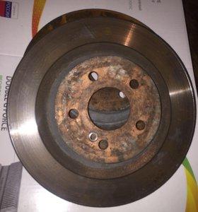 Мерседес w221 тормозные диски