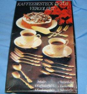 Столовые приборы Kaffeebesteck 15-TLG Vergoldet