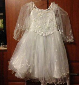 Платье 4-5л
