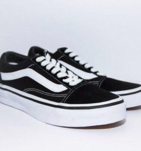 Vans old school black