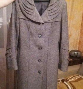 Пальто женское, весна/ осень, 52-54 размер.