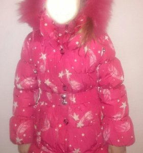 Детская зимняя куртка на 6 лет
