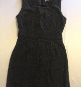 Платье сарафан шерсть