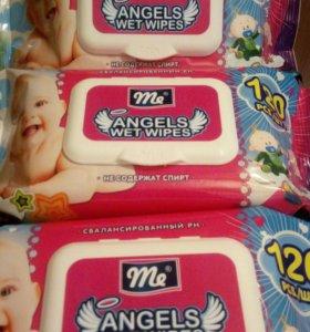 Влажные салфетки Angels