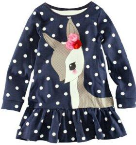 Новое платье детское