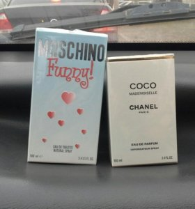 Духи Москино Фанни Лав Moschino Coco Chanel шанель