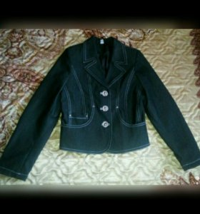 Костюм пиджак юбка брюки жилет р.128