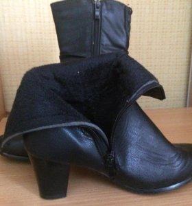 Продаю новые женские сапоги