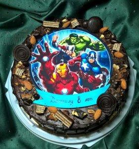 Шоколадные тортики