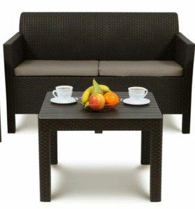 Садовая мебель 4 элемента