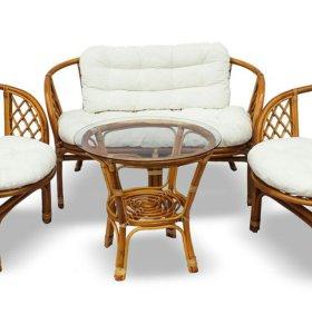 Садовая мебель из лозы 4 э