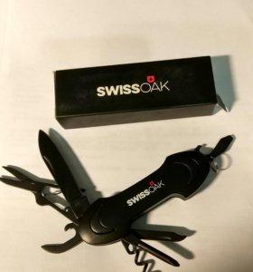 Нож Swiss OAK, многофункциональный