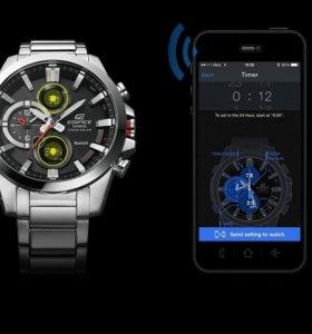 Часы Casio edifice ecb-500d 1aer