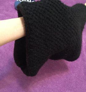 Зимний тёплый шарфик