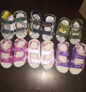 Детская обувь новая , размеры разные