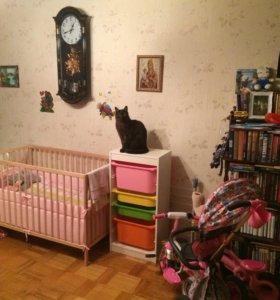 Кроватка детская деревянная (икея)