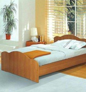 Кровать, кровать с ящиками, тумба, матрац