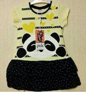 Платье Панда
