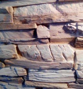 Декоративный камень сланец скала (005)