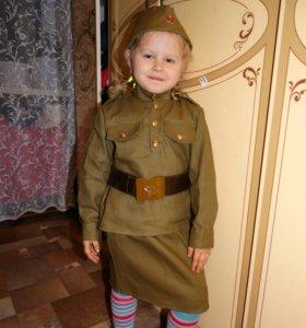 Солдатские костюмы для детей и взрослых на 9 МАЯ!