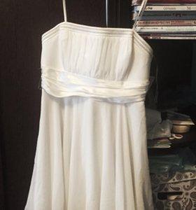 Платье коктейльное/свадебное