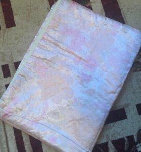 Одеяло атласное новое