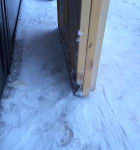 Дверь в сауну