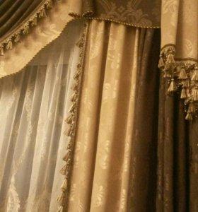 Дизайн и пошив штор