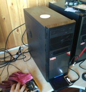 """Хороший компьютер с новым монитором 21,5"""""""